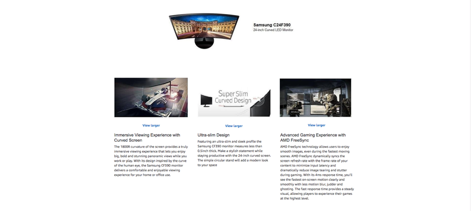 EBC Enhanced Brand Content